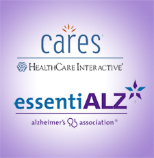 cares and essentialz logos stacked